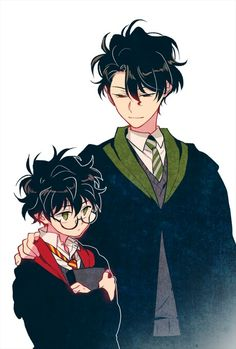 Read from the story Harry Potter fanart by _fucking-love-stony_ (Giselle Downey with reads. yaoi, anime, h. Harry Potter Voldemort, Fanart Harry Potter, Harry Potter Toms, Harry Potter Drawings, Harry James Potter, Harry Potter Ships, Harry Potter Universal, Harry Potter World, Drarry