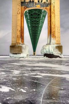 Rare view of Mighty Mac!