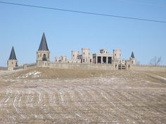 Mysterious castle outside Lexington, Kentucky