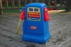 My boys' Little Tykes Gas Station Pump- I wish we could find one now, my grand-kids would LOVE it. Outdoor Toys For Kids, Toys For Boys, Kids Toys, Childhood Games, My Childhood Memories, J Birds, Little Tykes, New Britain, Travel Stroller