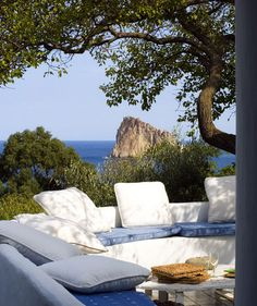 panarea, italy - sitting here on my back patio looking at the lake is almost as nice.  Almost.