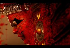 Theyyam, Kerala by Rajaram Rajendran Kerala Tourism, Airbrush Art, Masks Art, Incredible India, Art Forms, Mystic, Mangalore, The Incredibles, Deviantart