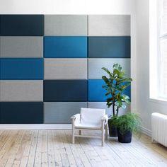 Domo Wall, akustik vægpaneler. Design: Stefan Borselius. Abstracta.
