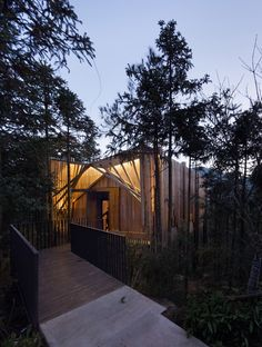 Stunning Treehouse in the Middle of Mount Qiyun [China] | Trendland