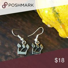 Rhodium and silver plated earrings Rhodium and silver plated earrings. Not chinese quality, not alloy,  no tarnish will last forever, MADE IN USA Very Bohemian style Ady Jewelry Earrings