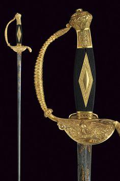 A Napoleonic period small-sword, France, circa 1800