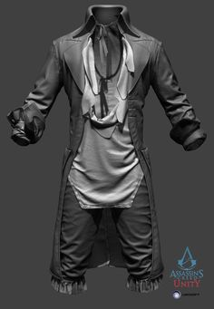 http://www.zbrushcentral.com/showthread.php?190016-Assassin-s-Creed-Unity-Characters/page2
