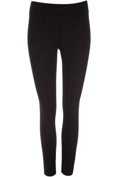 Petite Black Ponte Leggings #wallisfavourites