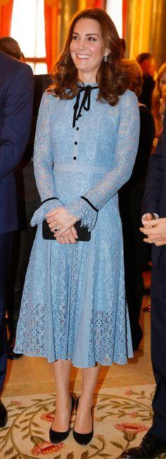 October 10, 2017 Temperley London Dress, Duchesse Kate, Kate Middleton Stil, Princesa Kate Middleton, Royal Look, Royal Style, Prince William And Kate, William Kate, Princess Kate