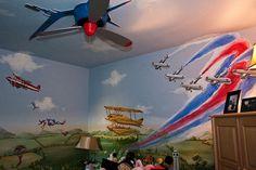 love the airplane fan
