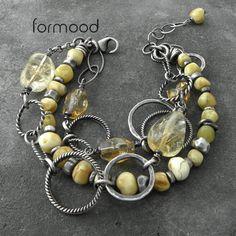 bursztyn i cytryn - rezerwacja Biżuteria Bransolety formood