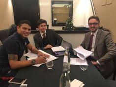 Blog Esportivo do Suíço:  PSG anuncia renovação de contrato com Thiago Silva até junho de 2020