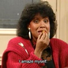 Image result for mrs huxtable i amaze myself