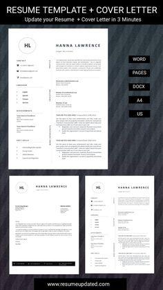 Cv Design Template, Modern Resume Template, Templates, Cover Letter For Resume, Resume Design, Professional Resume, Lettering, Words, Microsoft Word
