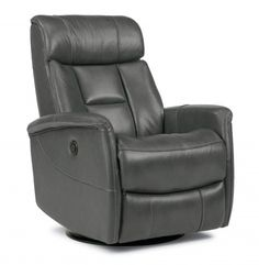Hart Leather King Power Swivel Gliding Recliner 1391-53PK in 752-02