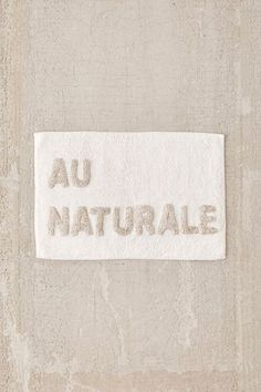 Shop Au Naturale Bath Mat at Urban Outfitters today. We carry all the latest styles, colors and brands for you to choose from right here. Urban Outfitters, Modern Bathroom, Small Bathroom, Bathroom Ideas, Bathroom Inspo, Bathroom Inspiration, Restroom Ideas, Shared Bathroom, Master Bathrooms