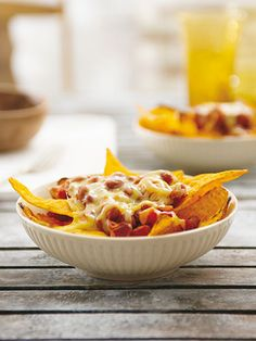 3. Bean and Cheese Nacho muffin tin can create fabulous party hors derves    Read more: Muffin Tin Recipes - Things You Can Make in a Muffin Tin - Redbook