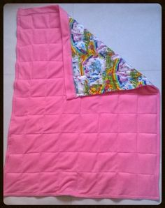 Sound o sleep weighted blanket .  Struggle with sleeping then try one of these .  Always best to consult your doctor or Occupational therapist before purchasing.  There filled with poly pellet beads to weigh 10% of your body weight .  Www.facebook.com/alwaysonthesew x
