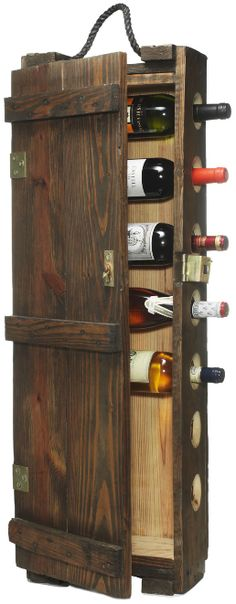 wine rack diy | recycled ammunitions case wine rack - The Alternative Consumer