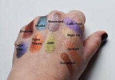 Makeup Geek Foiled Eyeshadows