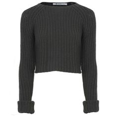 Hirshleifers - Alexander Wang - Chunky Knit Pullover Cardigan (Kale), $240.00 (http://www.hirshleifers.com/ready-to-wear/tops/alexander-wang-chunky-knit-pullover-cardigan-kale/)