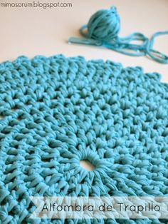Best Carpet For Boat Runners Crochet Rug Patterns, Crochet Fabric, Fabric Yarn, Knit Or Crochet, Crochet Doilies, Cotton Cord, Knitting, Easy, Handmade