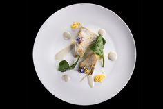 Francesco Oberto   Rombo, bagna cauda, uovo, mimosa   Ristorante Da Francesco, foto Lido Vannucchi