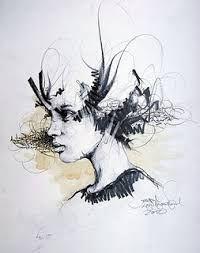Résultats de recherche d'images pour «auto retratos abstractos»
