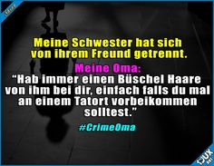 Omi hat noch die besten Tipps Omi still has the best tips is the best humor Funny Gags, Funny Jokes, Hilarious, Memes Humor, Funny As Hell, Funny Cute, True Quotes, Laugh Out Loud, Funny Photos