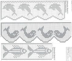 #BaiduImage bicos e barrados de croche com graficos_Pesquisa do Hao123
