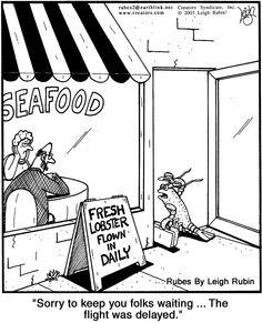 Lobster humor! #JoesCrabShack