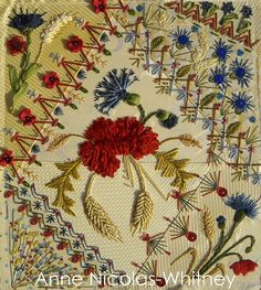 Fleurs des Champs / Summer Field by Anne Nicas-Whitney