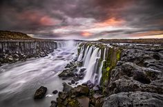 Selfoss Waterfall Iceland by Adam Monk on 500px