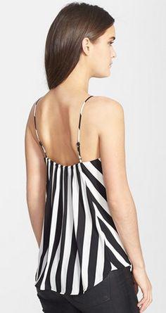 Black & white stripes @Nordstrom