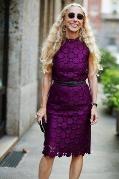 My Icon Franca Sozzani (The Sartorialist) The Sartorialist, Mature Fashion, High Fashion, Fashion Beauty, Womens Fashion, Urban Apparel, Parisienne Chic, Vogue, Advanced Style