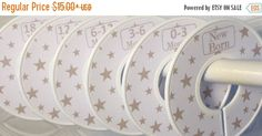 ON SALE Baby Closet Dividers Organizers in by GinaMarieOriginals
