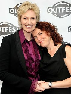 """Jane Lynch's Memorial Days was positively Glee-ful: She wed girlfriend Lara Embry at the Blue Heron restaurant in Sunderland, Mass. Following a small ceremony, the newlyweds and their 19 guests – including Embry's 8-year-old daughter Haden – enjoyed a reception featuring a four-piece jazz combo. """"It was so wonderful,"""" Lynch said. """"It was so great."""""""