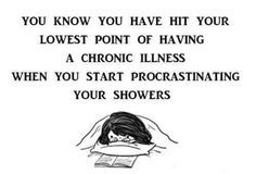 Chronic Illness ~ So, True!