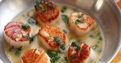 Pétoncle poêlé au vin blanc sauce au beurre - Recettes - Recettes simples et géniales! - Ma Fourchette - Délicieuses recettes de cuisine, astuces culinaires et plus encore!