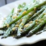 Parmesan Garlic Asparagus from chef-in-training.com ...My favorite way to eat asparagus! Very few ingredients, yet super flavorful and delic...