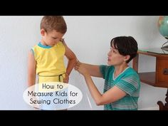 How to Measure Kids to Sew Clothes - Melly Sews