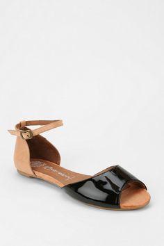 Jeffrey Campbell Sydney Peep-Toe Sandal #urbanoutfitters
