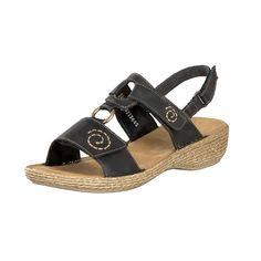 Rieker Sandaalit 65863-00 musta Espadrilles, Sandals, Shoes, Fashion, Espadrilles Outfit, Moda, Shoes Sandals, Zapatos, Shoes Outlet