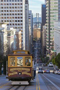 Up Nob Hill, San Francisco.