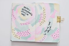 Art journal pages by Caylee Grey