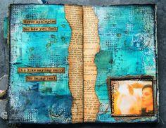 france papillon: art journal