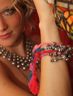 gypsy bells bracelets. layer 'em up! i've wanted these forever...maybe i'll treat myself on Mother's Day