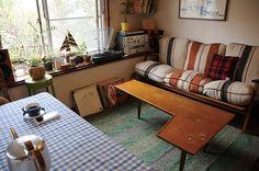 """Japanese apartment interior from the book """"La Deco des Jeunes Japonais"""""""