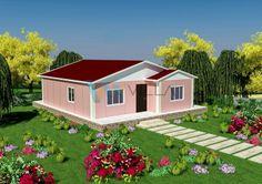 90 m² Tek Katlı Prefabrik Ev