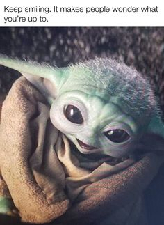 Baby Yoda Good Vibes : vibes, Ideas, Wars,, Nerd,, Humor